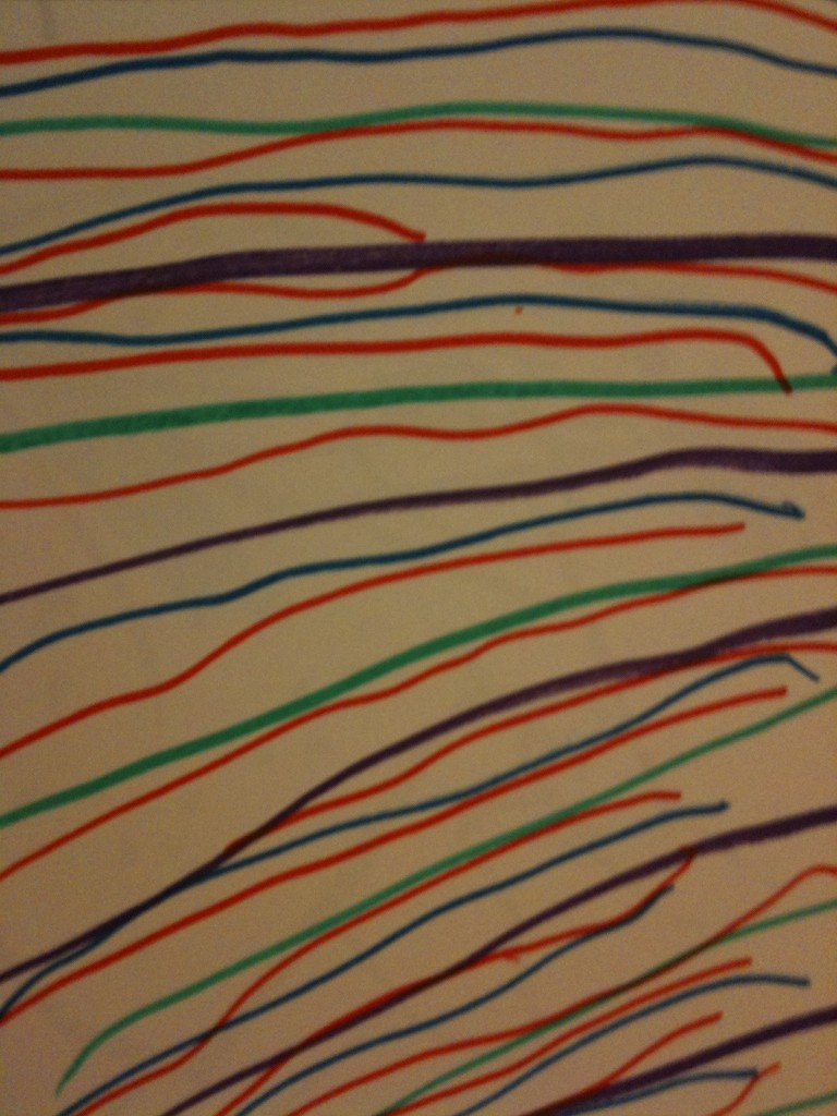 Raes stripes 768x1024 Family Draw Time Art Show