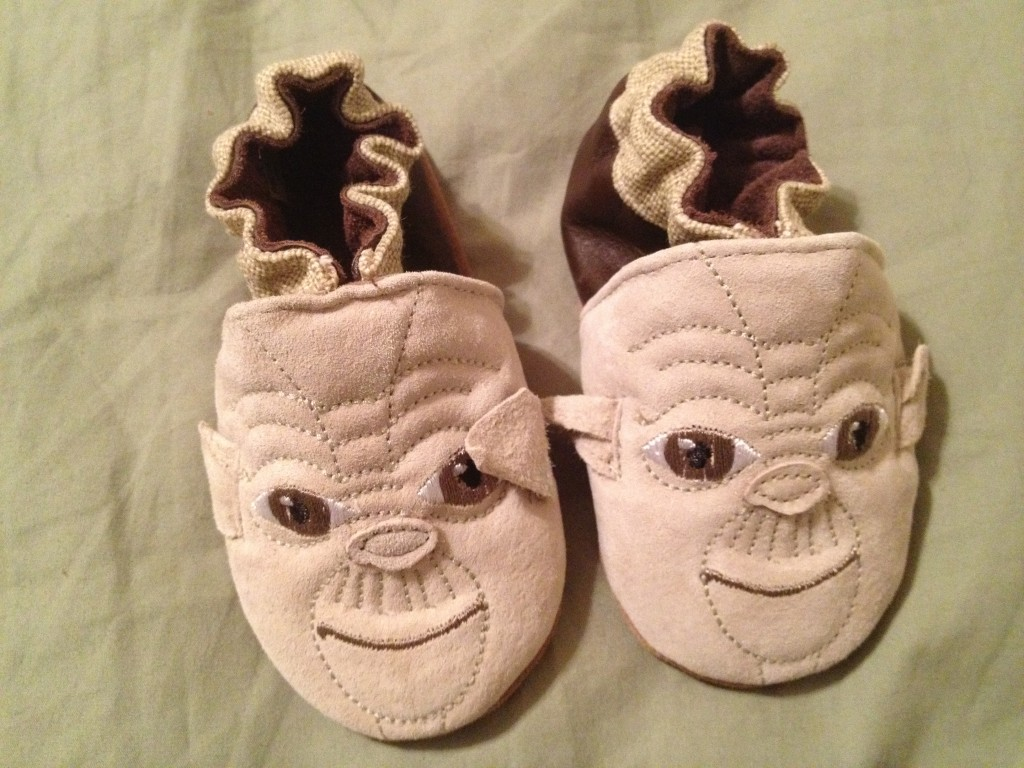 yoda shoes 1024x768 7 Quick Takes: The Mommy has a crush on Jesus and More Edition