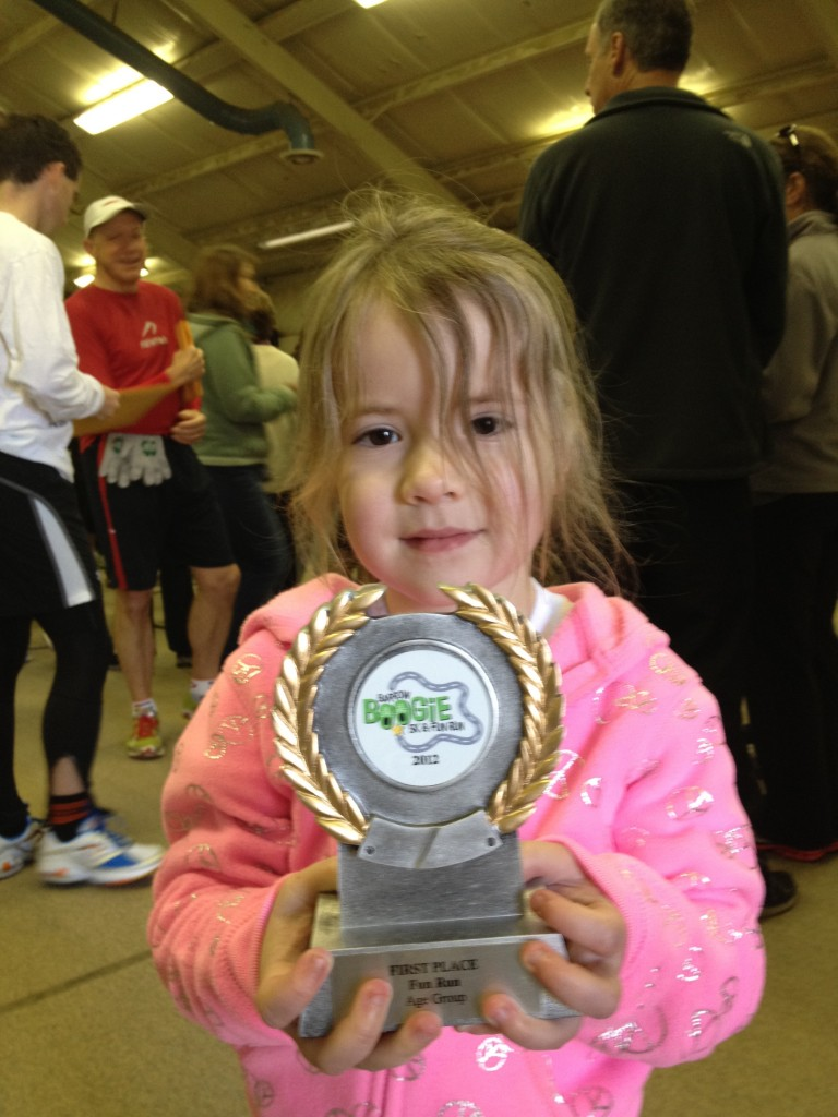 Fun Run winner