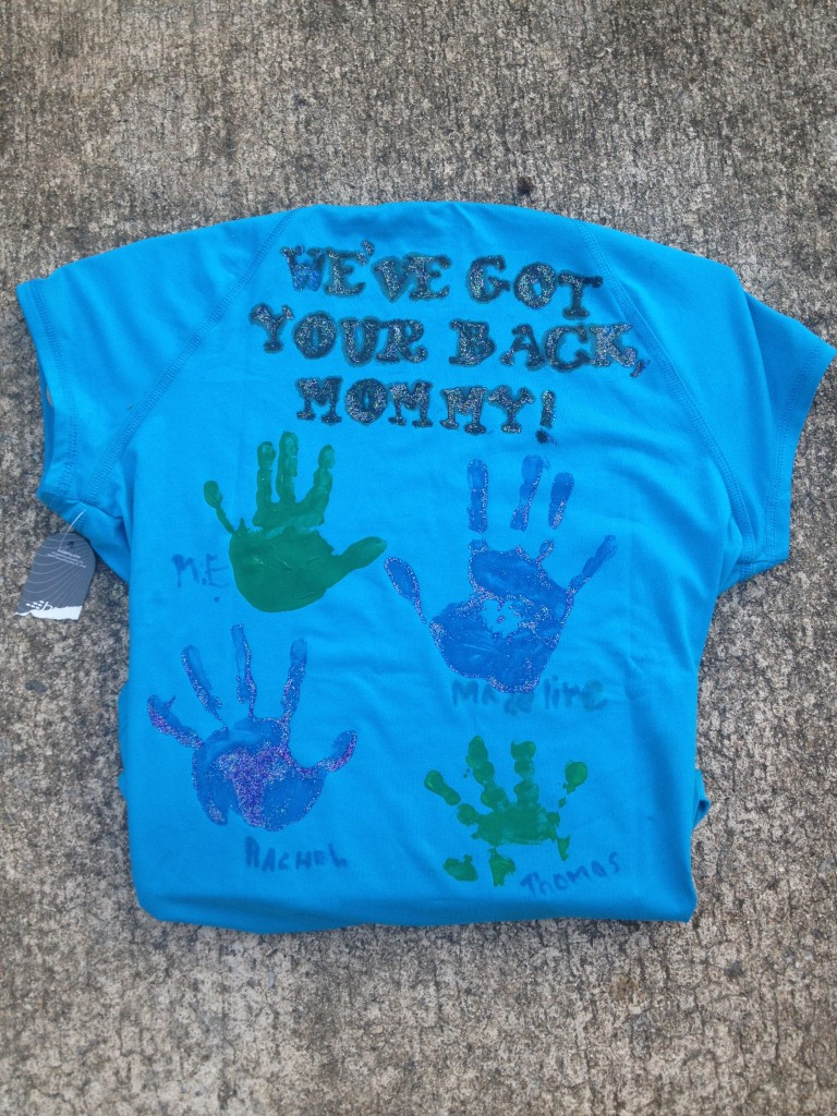 race day shirt e1367247541247 768x1024 Fish story, running, and getting your groove back