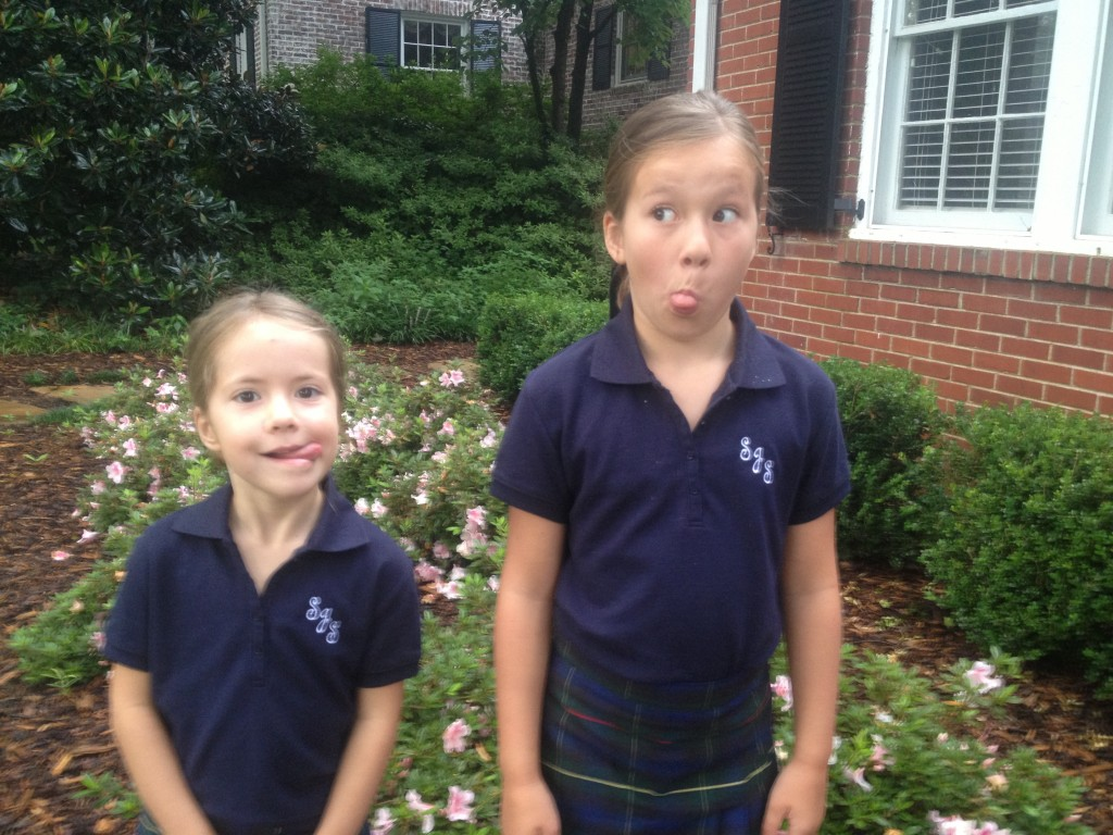 funny faces on first day of school 1024x768 A valediction forbidding mourning