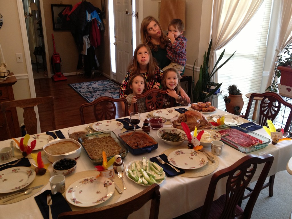 Thanksgiving funny faces 1024x768 Giving thanks and Advent links